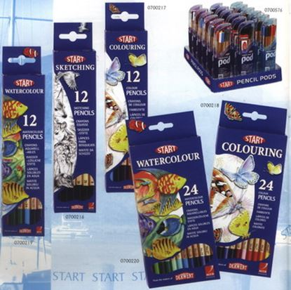 Picture of Derwent Start Sketching Pencils 12pcs