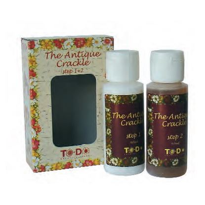 Picture of To-Do Fleur Antique Crackle Step 1+2