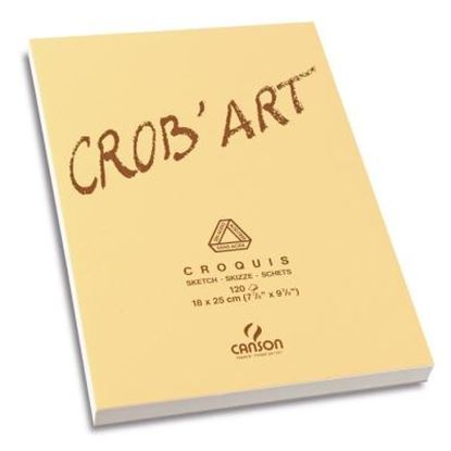 Picture of Canson Crob'Art Sketch Pad 120 Sheets