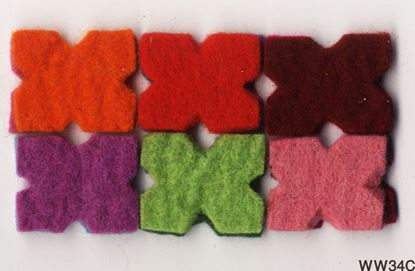 Picture of Bagmati Accessories & Trimmings (X Shape) - 12 Pcs in one Set