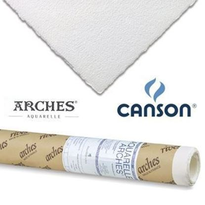 Picture of CANSON AQUARELLE ARCHES ROLL 185GSM -Rough