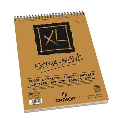 Picture of Canson XL Croquis, Extra-Blanc 90g
