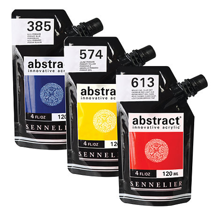 Picture of Sennelier Abstract Acrylic Paints 120ml