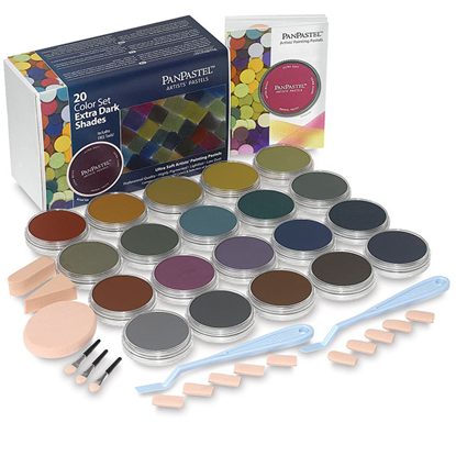 Picture of Pan Pastel Extra Dark Shades set of 20