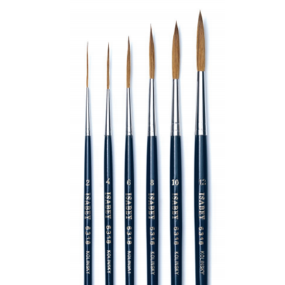 Picture of Isabey Long Point Lettering Brush 6318