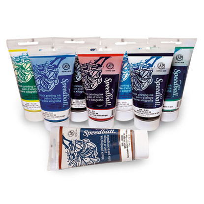 Picture of Speedball Water-Soluble Block Printing Inks