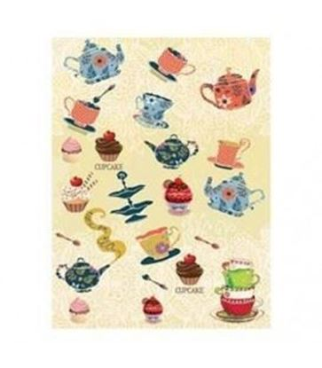 Picture of Cadence Rice decoupage paper M.064