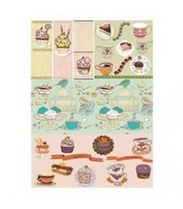 Picture of Cadence Rice decoupage paper M.066
