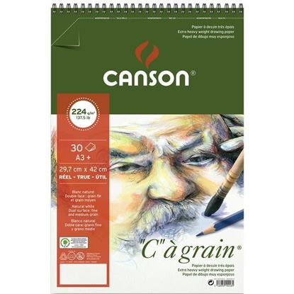 "Picture of Canson ""C"" a grain 224 gsm Spiral"