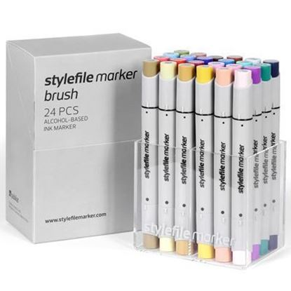 Picture of Stylefile Marker Brush 24 pcs Main B set