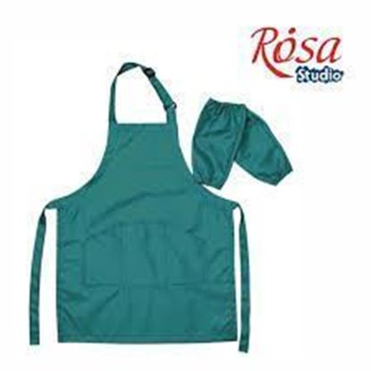Picture of Rosa  Apron  for Children, Green