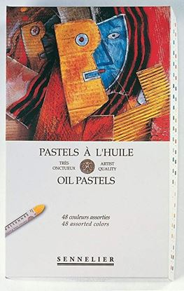Sennelier Oil Pastel Cardboard set of 48 Oil Pastel - Universal