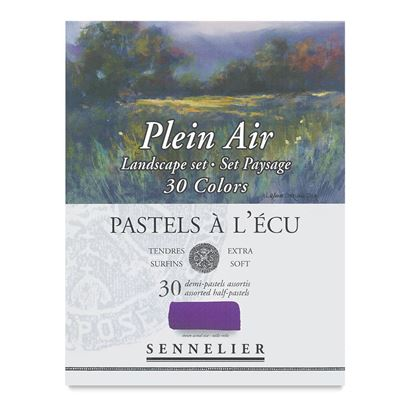 Sennelier Extra Soft Pastel Sets - Landscape  Collection 30 1/2 pastel