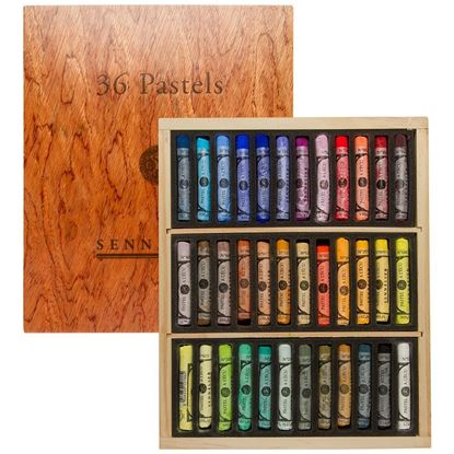 Sennelier Extra Soft Pastel - Wooden Starter Set - 36 colors