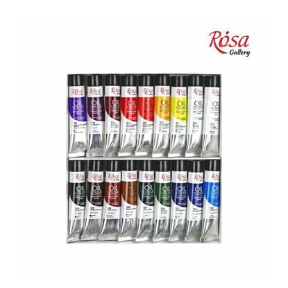 Rosa Oil Paint Set  18*20 ml, ROSA Gallery