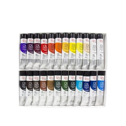 Rosa Oil Paint Set  24*20 ml, ROSA Gallery