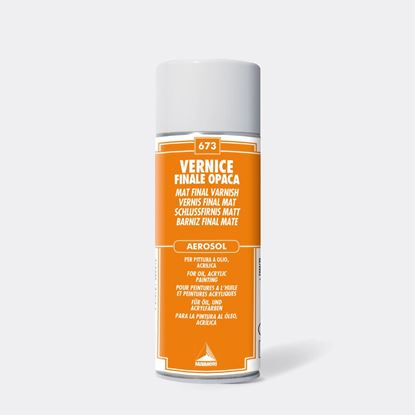 MAIMERI - FINAL MATT VARNISH SPRAY - 400ML